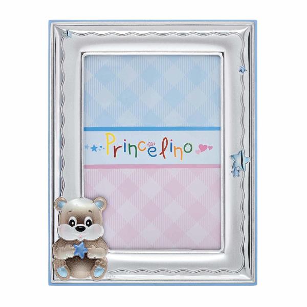Εικόνα της BABY TEDDY BEAR SILVER FRAME