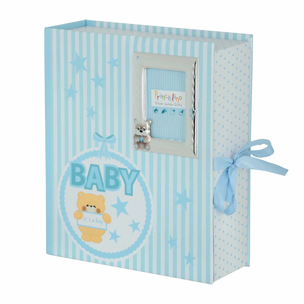 Εικόνα της BABY BOX WITH SILVER ALBUM