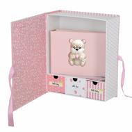 Εικόνα της BABY BOX WITH SILVER ALBUM